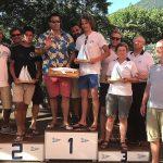 L'equipaggio italo americano con Matias Collins al timone vince la prima edizione del Trofeo Bellano